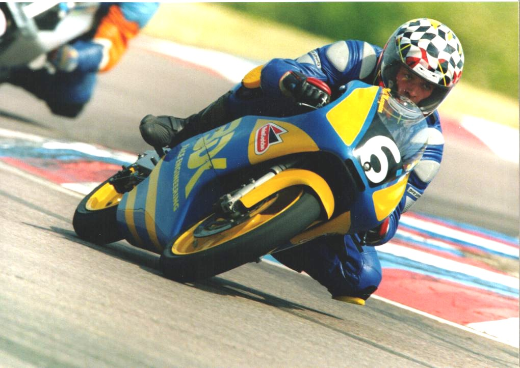 Neil at Thruxton 2001