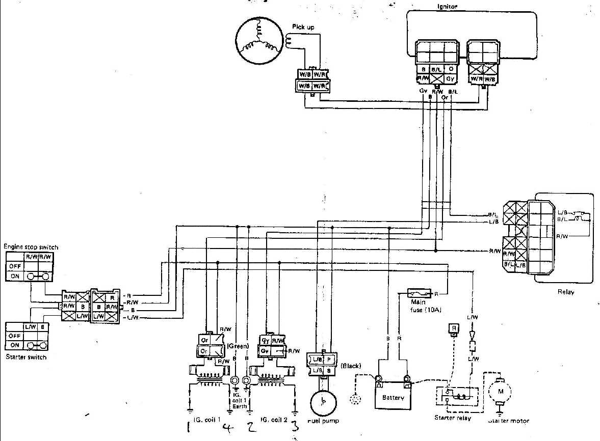 Wrg 7792 Fzr 1000 Wiring Diagram 1991 Caprice Exup At Highcareasia Fzr400rrsp Full Race Loom